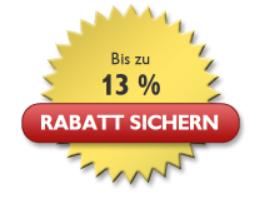 bis zu 13% Rabatt sichern