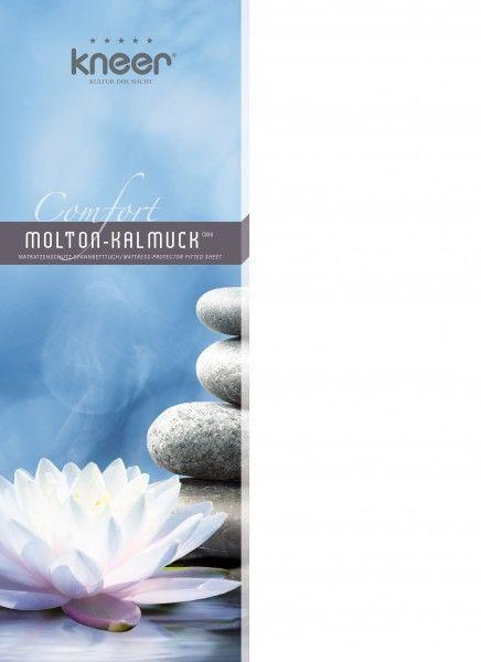 Kneer Matratzenschutz Comfort Molton-Kalmuck