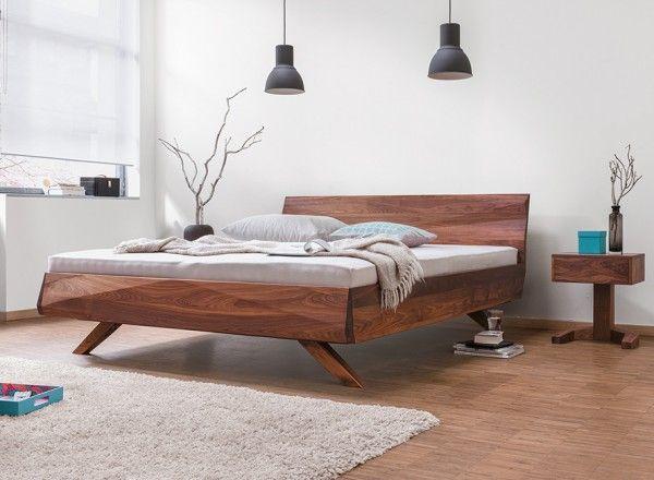 Dormiente Massivholzbett Gabo