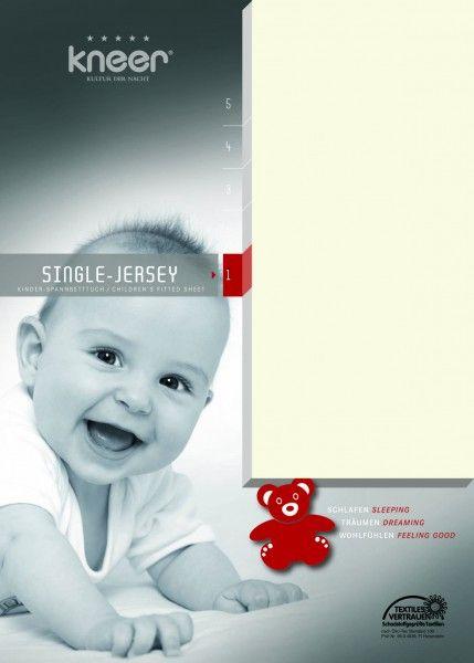 Kneer Kinder-Spannbetttuch Single-Jersey