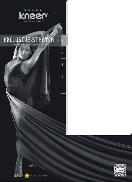 Kneer Spannbetttuch Exclusiv-Stretch