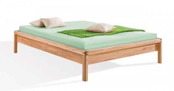 Dormiente Massivholzbett Piu mit Rückenlehne #1