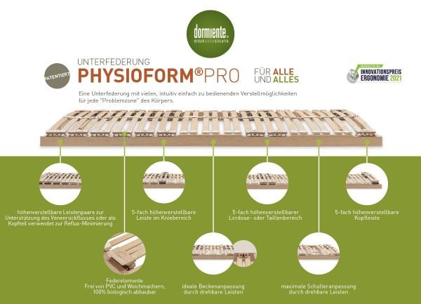 Dormiente Lattenrahmen Physioform Pro S