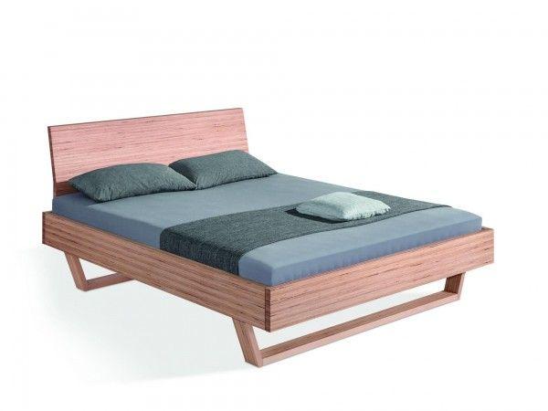 Dormiente Massivholzbett Udana MIT Rückenlehne