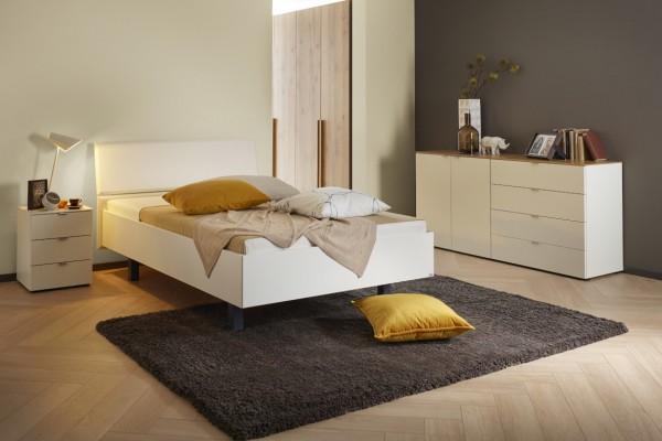 Reicher Komfortbett KANTOS (weiß)