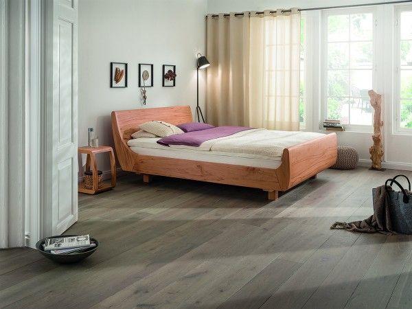 Dormiente Massivholzbett Mola Maxi mit Standardfüßen
